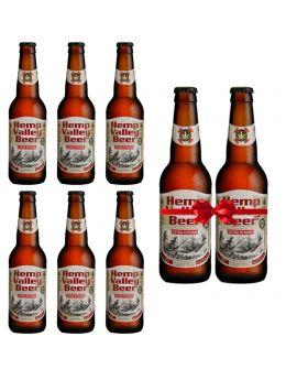 Hemp Valley Beer Pack 8% 330ml 6+2 Δώρο