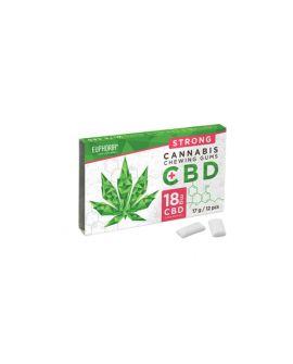Euphoria CBD Chewing Gum 18 mg