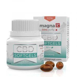 Magna CBD Softgel 10% 60pcs