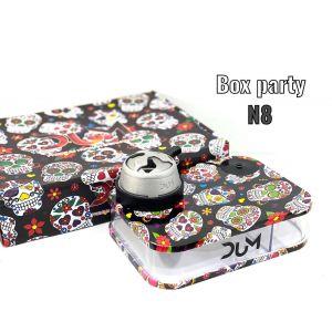 Ναργιλές/Shisha Dum Party Box Black 7 cm