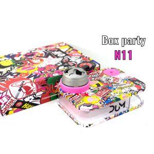 Ναργιλές/Shisha Dum Party Box Pink 7 cm