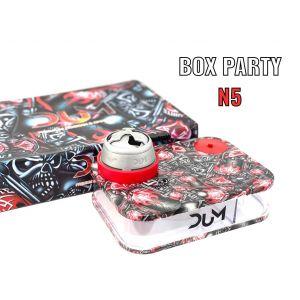 Ναργιλές/Shisha DUM Party Box Red 7 cm