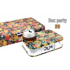 Ναργιλές/Shisha DUM Party Box Brown 7 cm