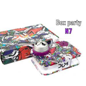 Ναργιλές/Shisha DUM Party Box Purple 7 cm