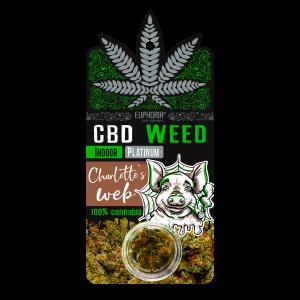 Euphoria CBD Weed Charlotte's Web 0,9 gr (Ανθός Κάνναβης)