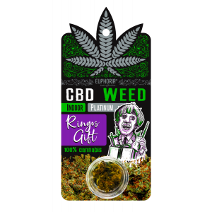 Euphoria CBD Weed Ringos Gift 0,9 gr (Aνθός Κάνναβης)
