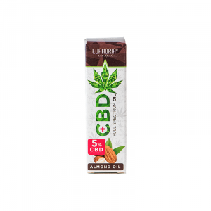 Euphoria CBD OIL 5% With Almond OIL 10ml
