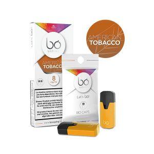 2x BO Caps American Tobacco-0mg