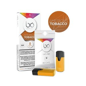2x BO Caps American Tobacco-16mg