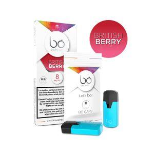 2x BO Caps British Berry-16mg