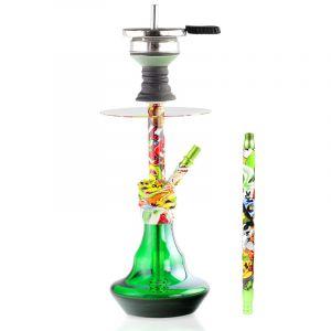 Ναργιλές/Shisha Dum Bingo - Green 41 cm
