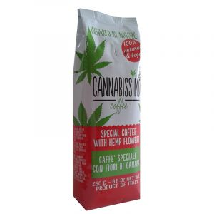 Cannabissimo Coffee With Hemp Flowers Ground 250gr