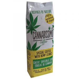 Cannabissimo Coffee With Hemp Leaves Groud 250gr