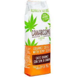 Cannabissimo Coffee With Hemp Seeds 250gr