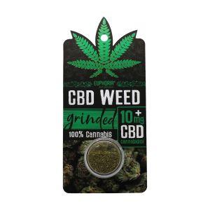 CBD Weed Τριμμένος Ανθός Κάνναβης (Grinded)  10 mg 0,9 gr