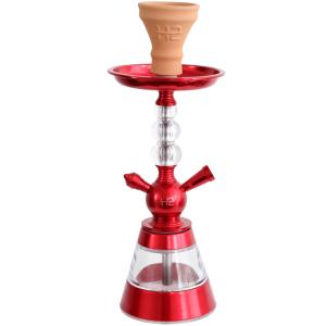 Ναργιλές/Shisha Dum H2-Celeste - Red 40 cm