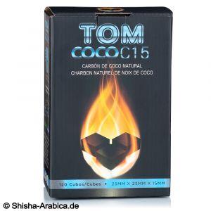 Κάρβουνα Ναργιλέ Tom Cococha 1kg (120 τμχ) - BLUE