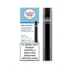 Dinner Lady Disposable Blue Menthol 20mg 1,2ml