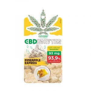 Euphoria Pineapple Express 93mg CBD Shatter 0,1g