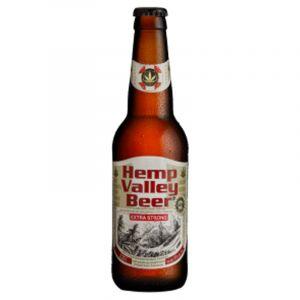 Hemp Valley Cannabis Beer Extra Strong 330ml – 8%vol
