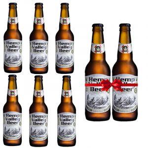 Hemp Valley Beer Pack 4.5% 330ml 6+2 Δώρο