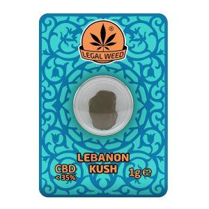 Legal Weed Lebanon Kush Kief 1gr - 35% CBD