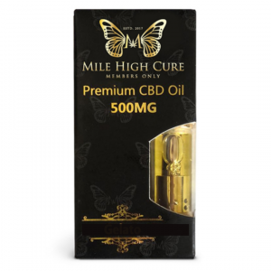 Mile High Cure Pen Cartridge 500mg Pineapple Express