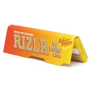 Rizla Χαρτακια  50 Φυλλα Πορτοκαλι γλυκόριζα