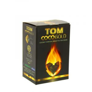 Κάρβουνα Ναργιλέ Tom Cococha 1kg - Gold