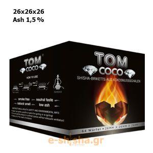Κάρβουνο Καρύδας Tom Coco Diamond 1kg