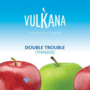 Καπνός Vulkana Virginia 20g + 100ml Double Trouble