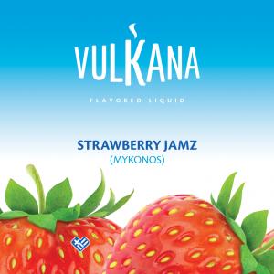 Καπνός Vulkana Virginia 20g + 100ml Strawberry Jamz