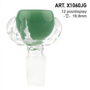 Grace Glass Bowl Dragon Paw Green SG:18.8mm