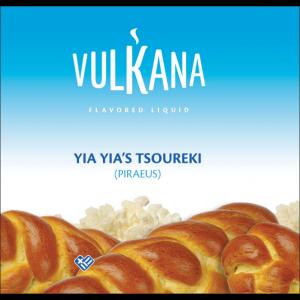 Καπνός Vulkana Virginia 20g + 100ml Yia Yia's Tsoureki